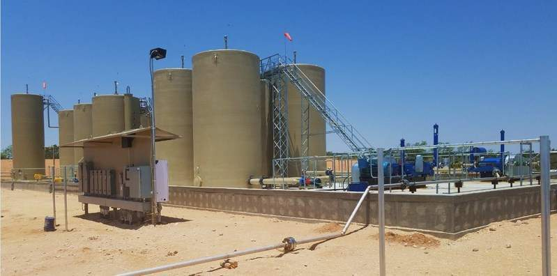 Gravity Pipeline SWD in Howard County