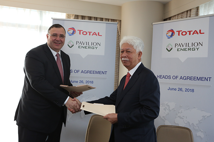 Total, Pavilion Energy to jointly develop LNG bunker supply chain in Singapore