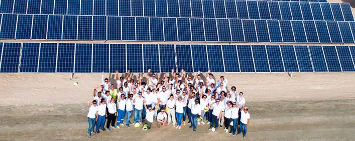 Acciona consortium completes first stage of Mohammed Bin Rashid Al Maktoum Solar Park III in Dubai