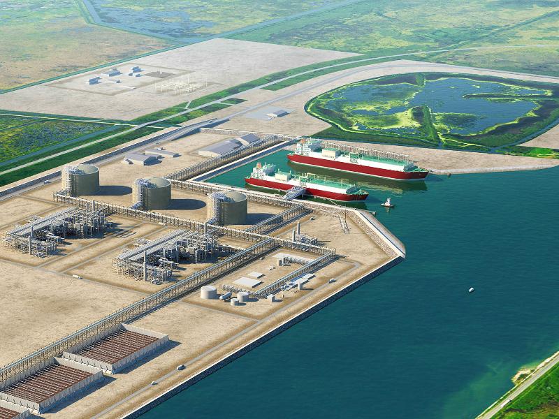Port Arthur LNG Terminal, Texas