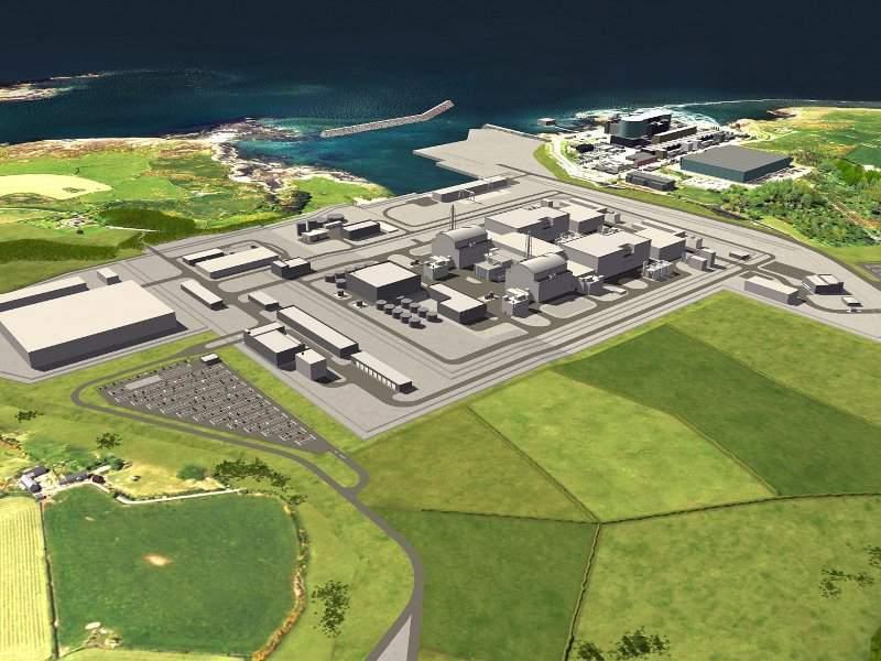 Wylfa Newydd Nuclear Power Plant, Wales