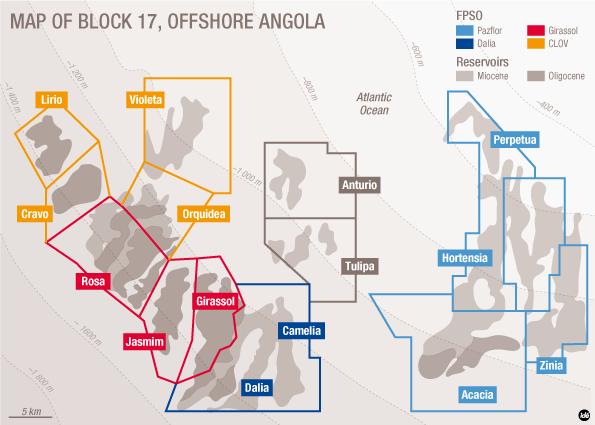 Zinia Phase 2 field development-map