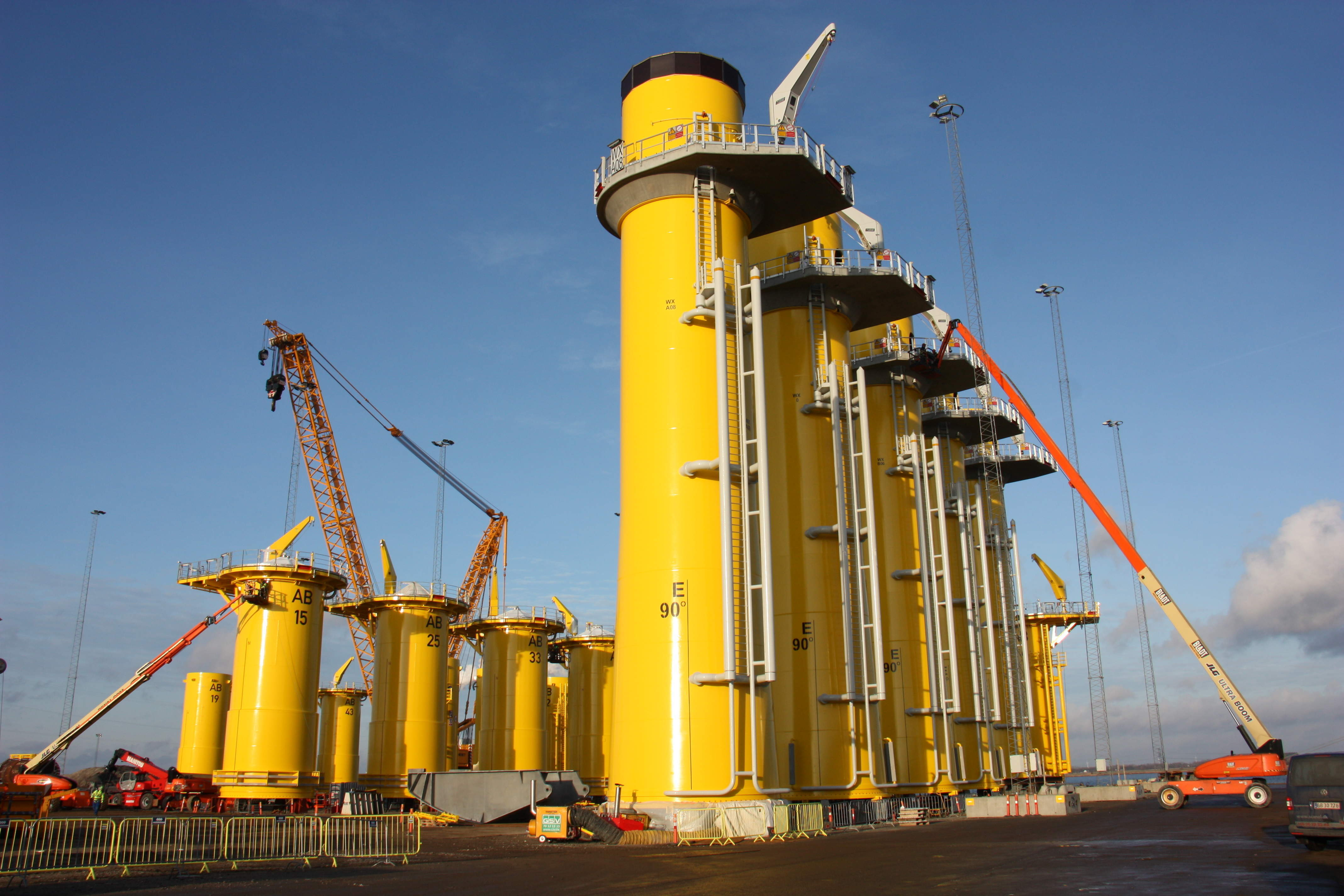 Bladt secures monopile fabrication contract for Northwester 2 offshore wind farm