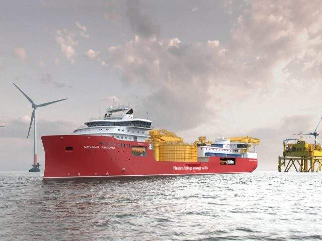 Ulstein Verft to build power cable laying vessel for Nexans