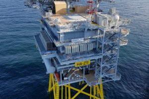 Hornsea One: Ørsted hits milestone on world's largest offshore wind farm
