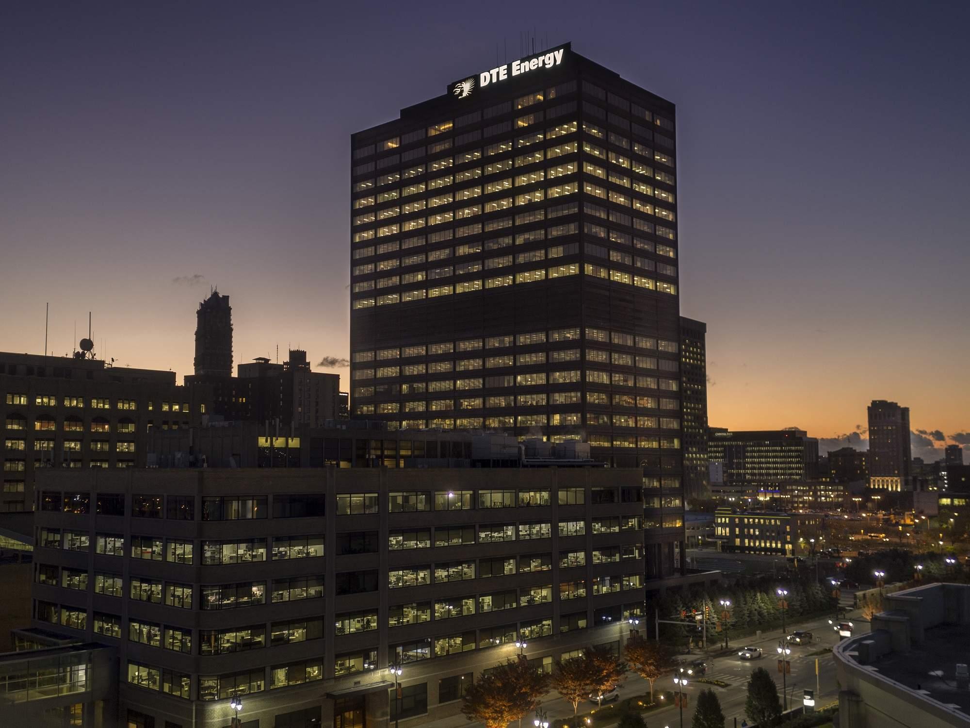 DTE Energy Headquarters, Detroit, Michigan