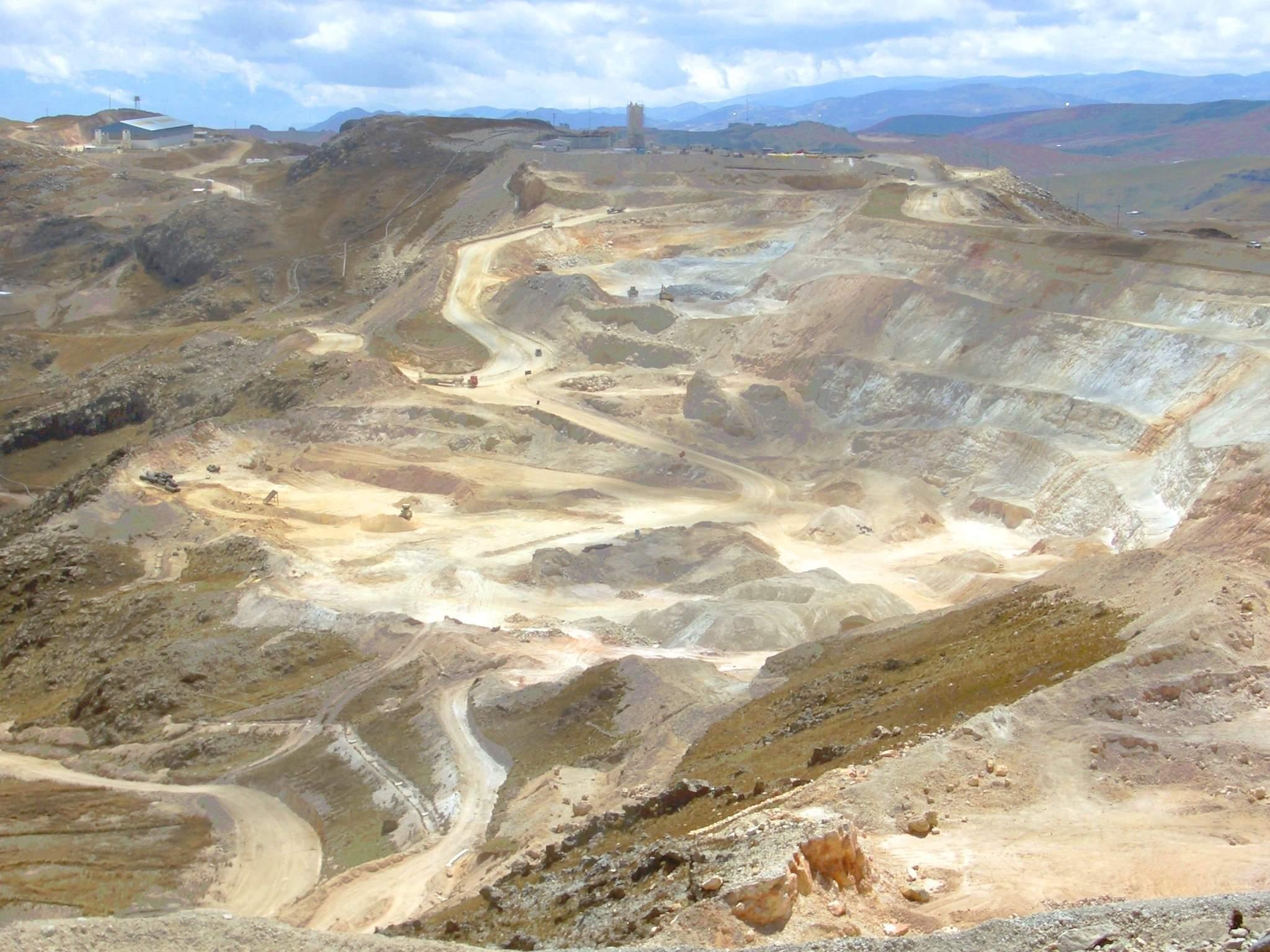 Yanacocha-Goldmine