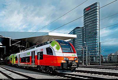 ÖBB und Siemens entwickeln Akkutriebzug / ÖBB and Siemens develop  battery-powered train