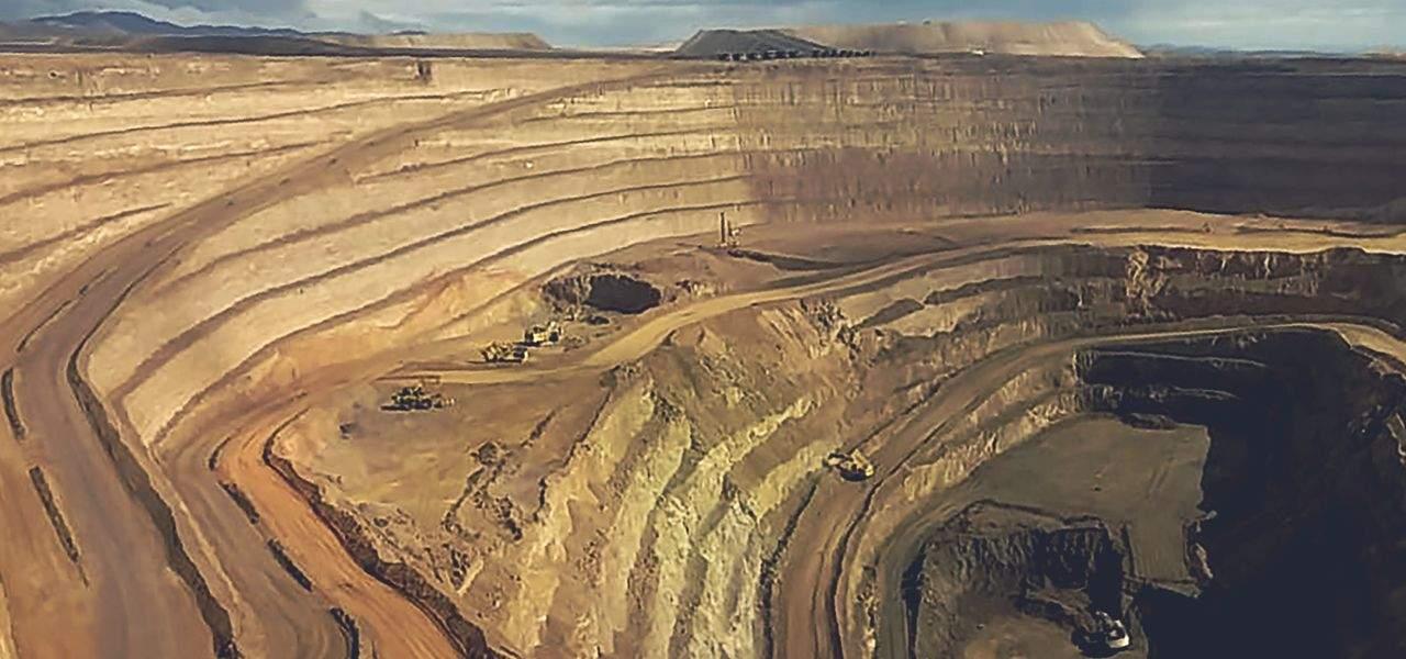 Encuentro Oxides copper mine in Chile