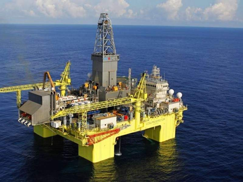 Image 1- The Liwan gas field is located 300km off the coast of Hong Kong, in the South China Sea.