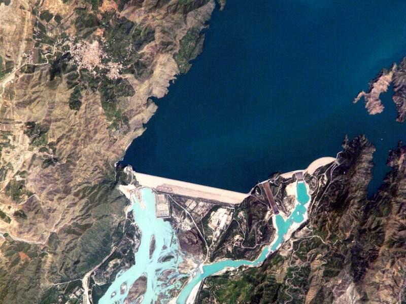 Image 4- Tarbela Hydropower Plant