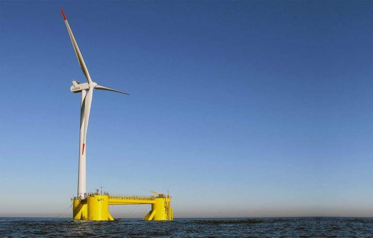 NC floating offshore wind farm