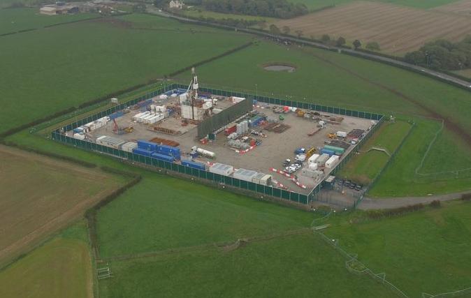 uk government fracking