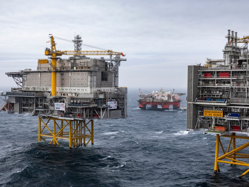 Johan Sverdrup Offshore Development