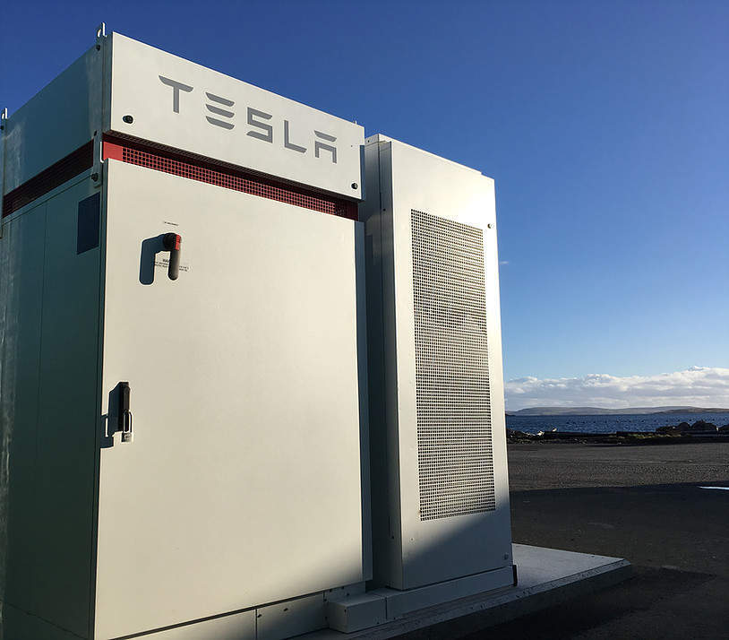 Tidal power firm Nova Innovation to use Tesla Powerpack for baseload