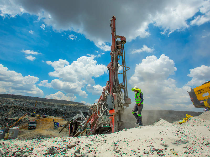 Tharisa Mine, Bushveld Complex, Rustenburg