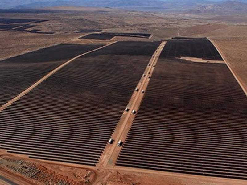 Image 1- Puerto Libertad Solar Plant