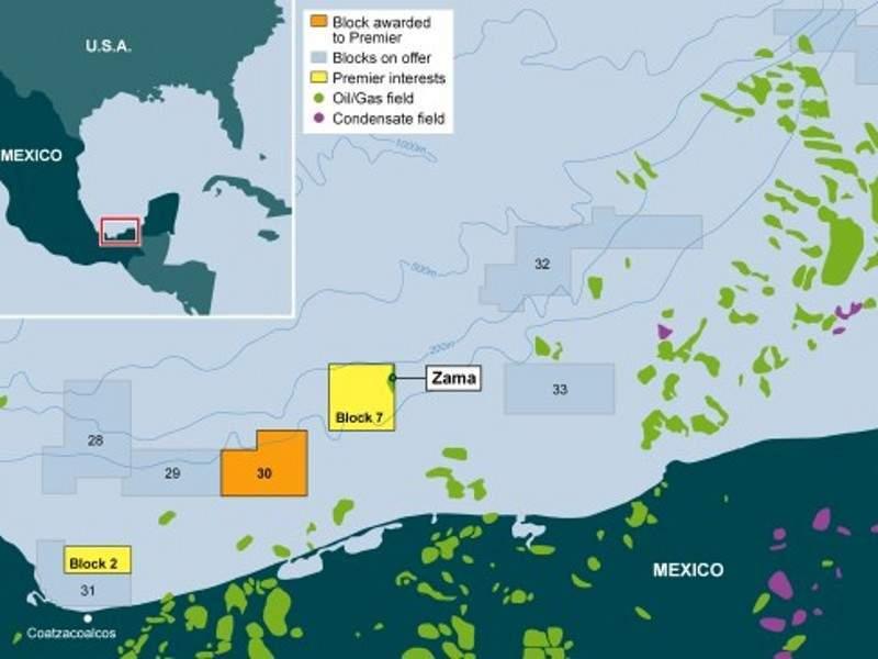 Image 1- Zama Oil Field