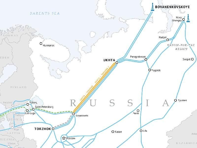 Image 2- Ukhta-Torzhok gas pipeline
