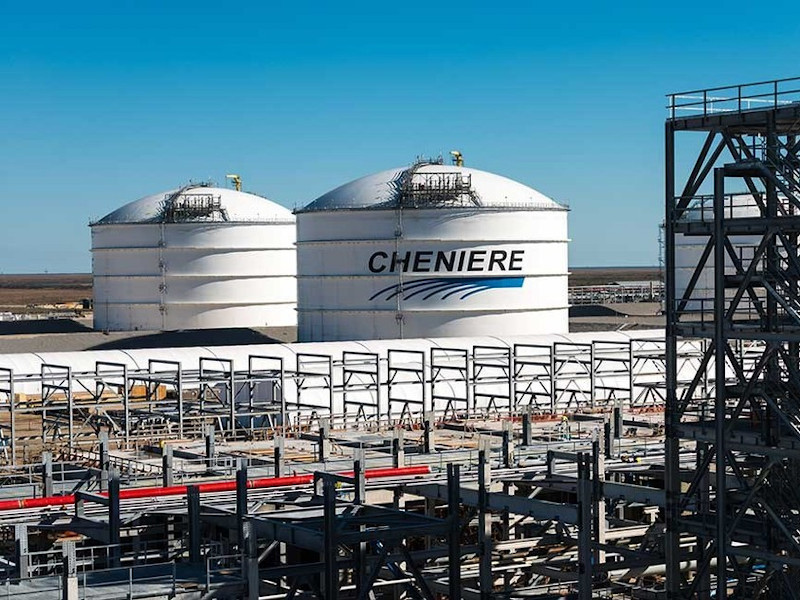 The Corpus Christi LNG export terminal is operated by Cheniere Energy. Image courtesy of Bechtel