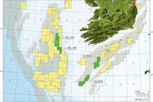 Azeire announces licence awards in the Porcupine Basin, Offshore Ireland