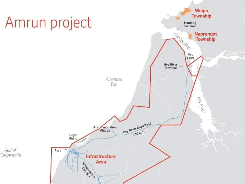 1l -Image --- Amrun Bauxite Mine, Queensland