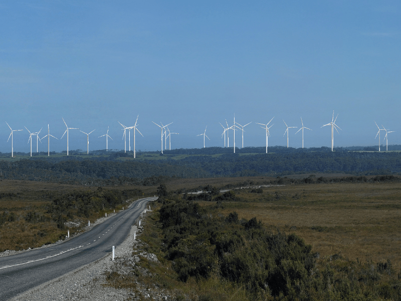Image 1- Granville Harbour Wind Farm