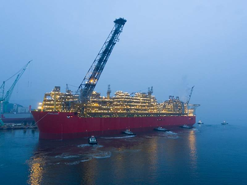 Image 1- Prelude FLNG