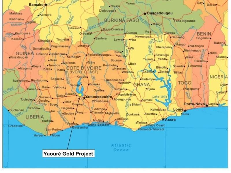 Image 2- Yaoure Gold project