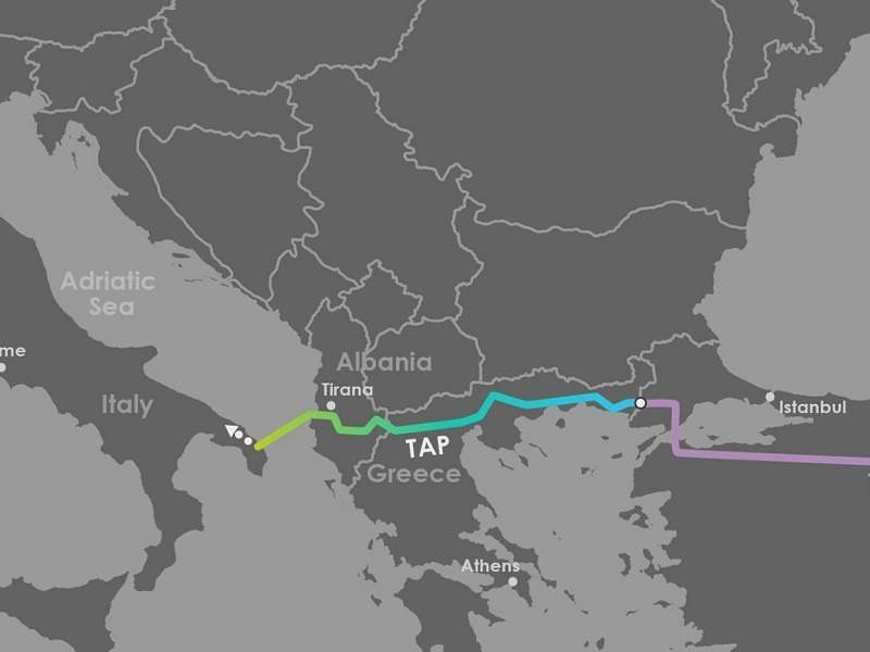 Trans Adriatic Pipeline (TAP) - The alternate route of gas
