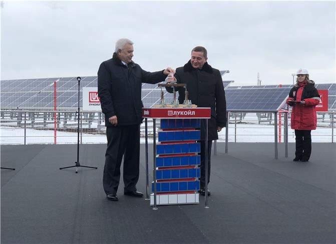 Lukoil completes renovation of green power plant in Krasnodar