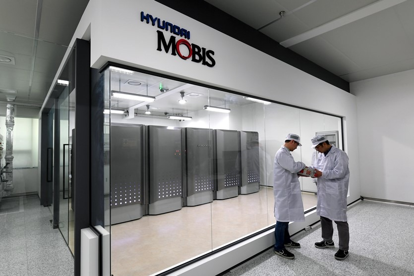 Hyundai Mobis introducing a pollution-less power generation system utilizing hydrogen vehicles
