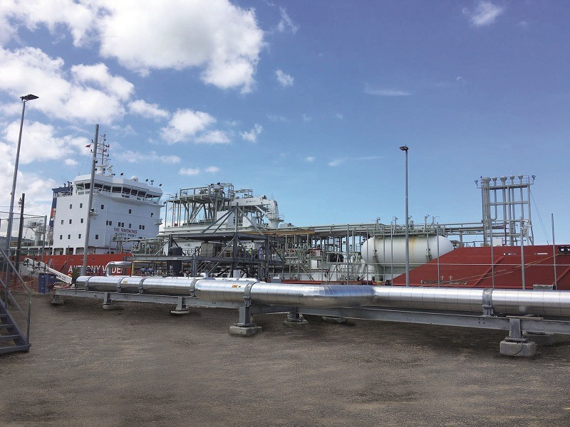 KLAW LNG's technology enables reliable flow of LNG to Montego Bay community