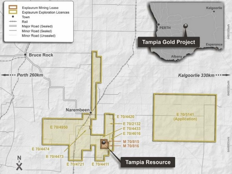 1l - Image --- Tampia Gold Project