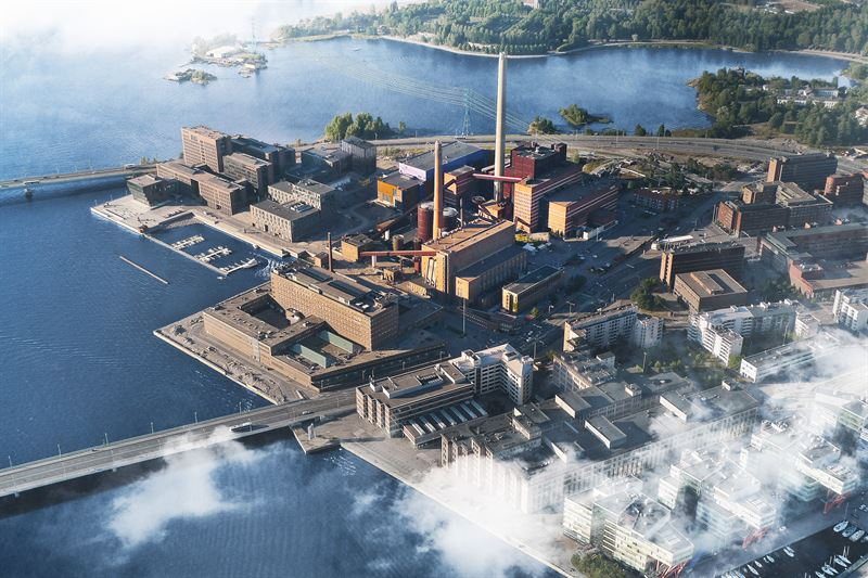 Wärtsilä's energy system model demonstrates: wind power and heat pumps best solution for giving up coal in Helsinki