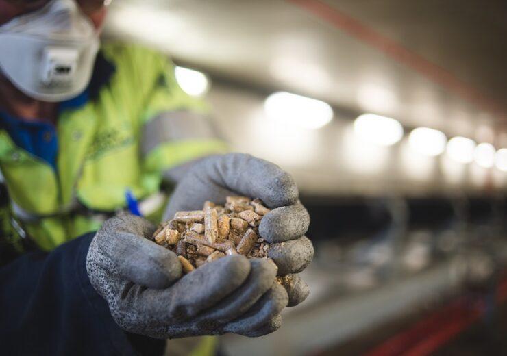 Biomass wood pellets Drax