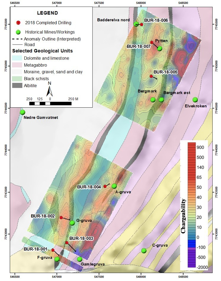 Boreal Metals-Boreal Intersects High-Grade Copper Gold at Burfjo