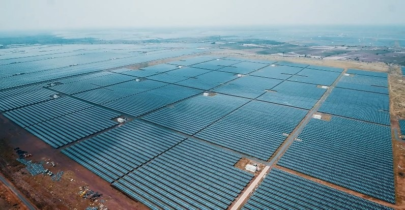 Azure Power Solar Plant in Andhra Pradesh