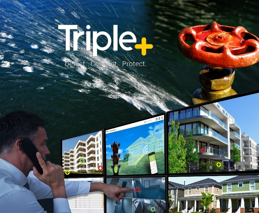 Triple+ introduces water leak prevention system with cloud-based monitoring capabilities
