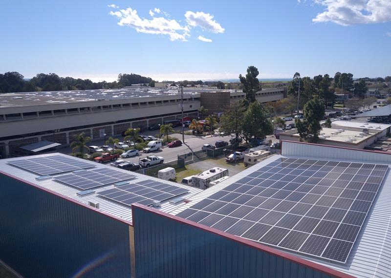 HOMER Energy - Sandbar Roof West View