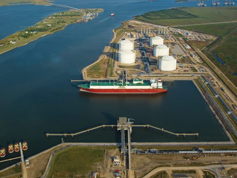 Calcasieu Pass LNG Export Facility, Louisiana