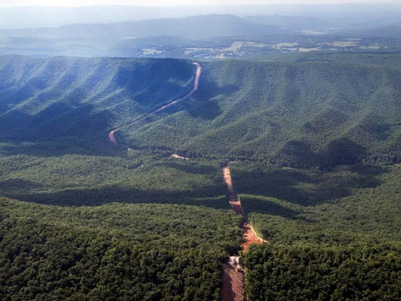 Mountain Valley Gas Pipeline, West Virginia