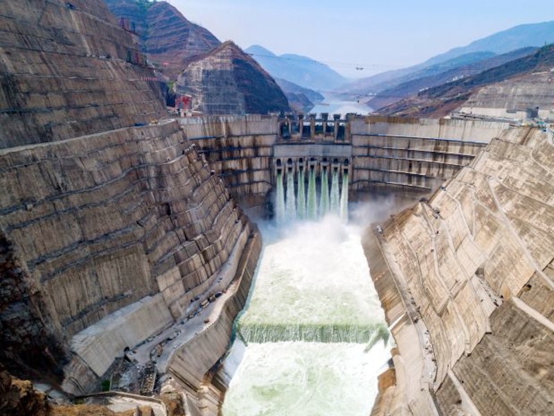 Baihetan Hydropower project