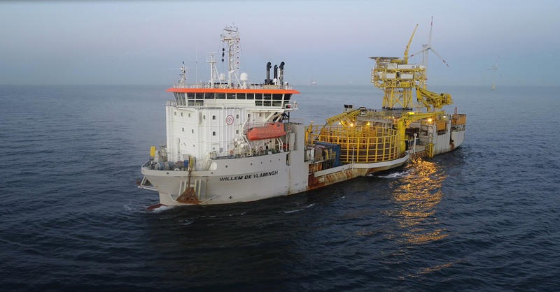 Jan De Nul to repair TenneT's HV cables in German Bright