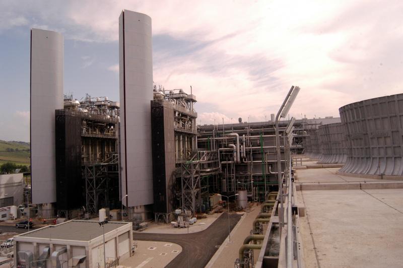 Sorgenia's Termoli combined-cycle power plant