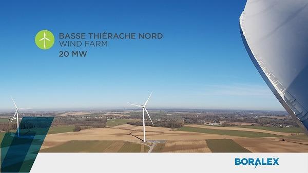 Boralex Inc--Boralex commissions the Basse Thi-rache Nord wind f