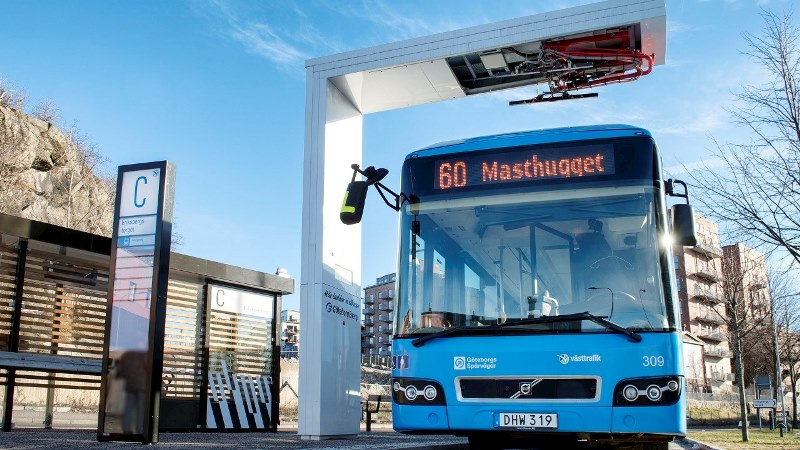 ABB electric fast chargers creating a greener Gothenburg