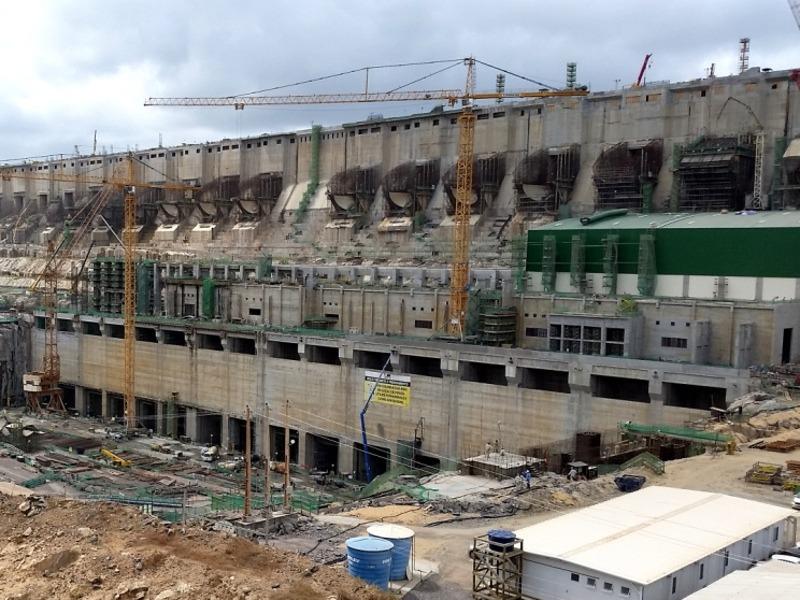 Image 1- Belo Monte hydropower project