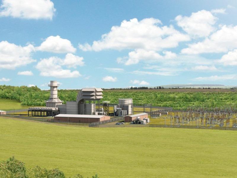 Image 1- Millbrook Power Station, England