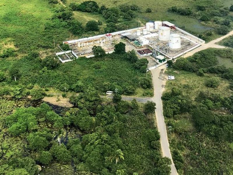 Ogarrio Oil Field Expansion, Tabasco